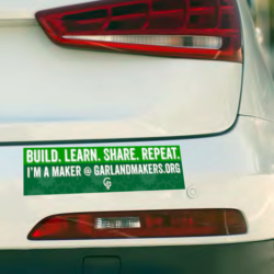 image of bumper of car with bumpersticker