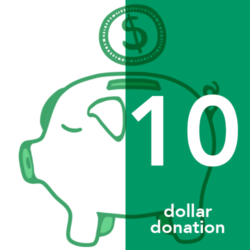 Ten Dollar Donation