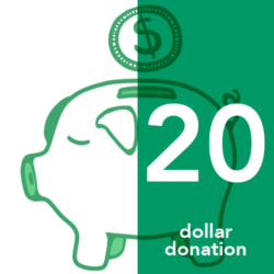 Twenty Dollar Donation