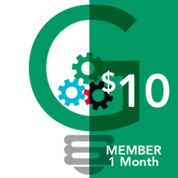 Monthly Membership Icon