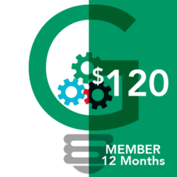 Yearly membership icon