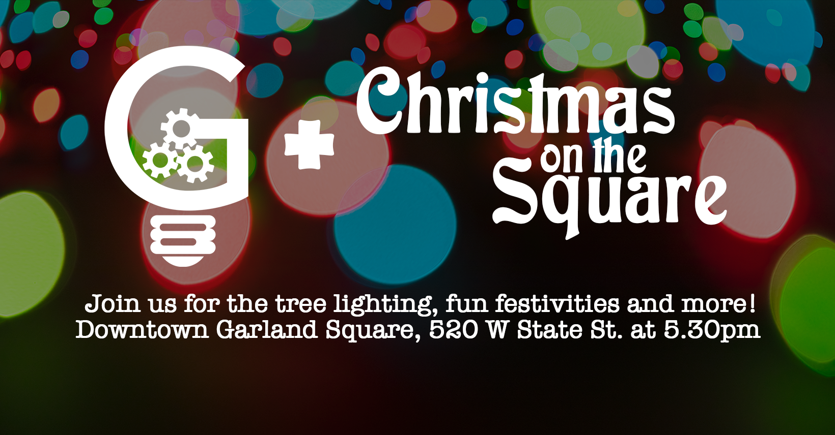 Garland Area MakerSpace at Christmas on the Square